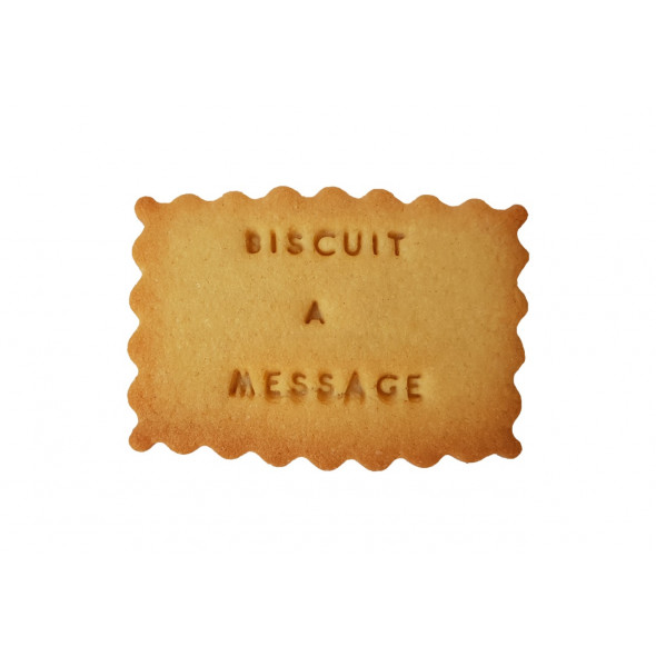 Biscuits à message
