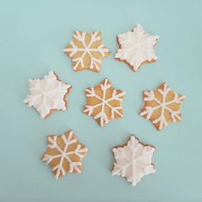 petit flocon de neige biscuits