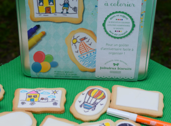 Un atelier de biscuits à colorier à la maison, c'est possible !